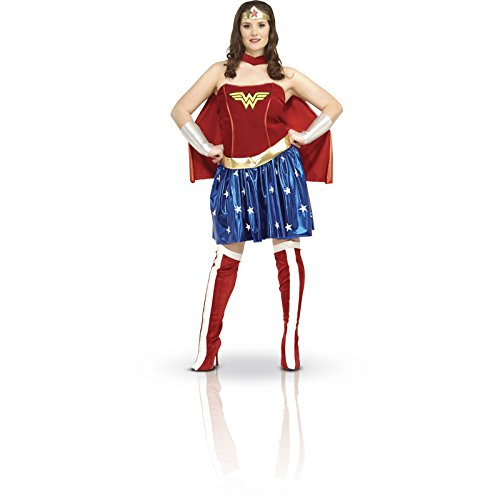 Official Wonder Woman Adult Costume - Ladies Plus Size
