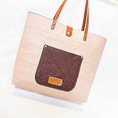 Bolso de cuero y tela Africana piel ETNIA: Amazon.es: Handmade