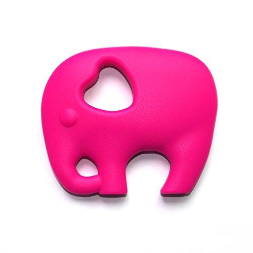 Preisvergleich Produktbild Lil' Jumbl Beißring für Babys – Sicher, frei von BPA, 100 % Silikon, sauberes Material