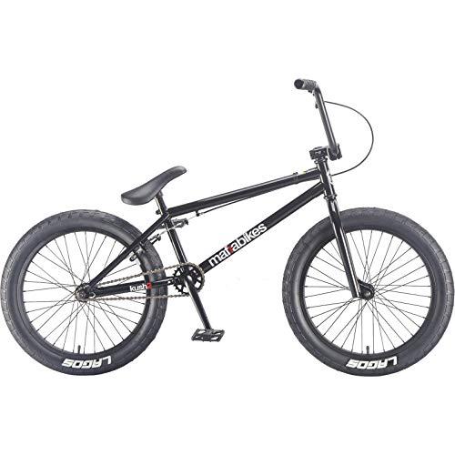 Mafiabikes 20 Zoll BMX Bike Kush 2.0 viele Farben KUSH2, Farbe:Schwarz