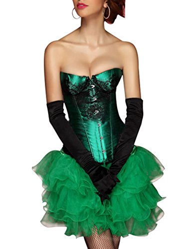KuSen - Bustino -  donna Green