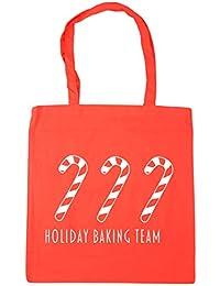 Cotton Shoulder Bag // Tote Cream Jingle Bells Gin Girl All The Way Natural