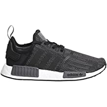 adidas Originals Nmd R1 PK Blanc-Noir - Chaussures Baskets basses Homme