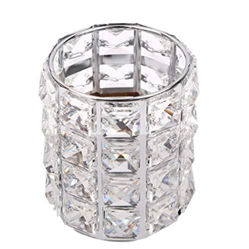 Xmansky Titular pluma cristal arte clavo Caja almacenamiento