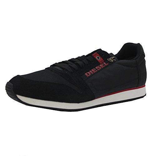 Diesel Herren Schwarz Slocker S Sneakers Noir