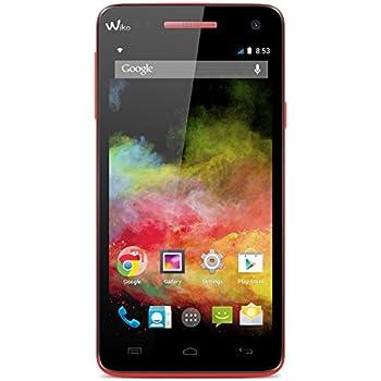 Wiko Rainbow Smartphone débloqué 4G (Ecran : 5 pouces - 8 Go - Simple SIM - Android 4.4 KitKat) Coral