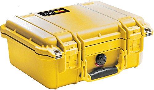 Peli 1500NF,WL/NF,YELLOW Schutzkoffer ohne Schaum gelb