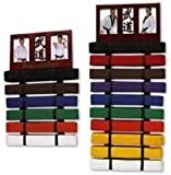 Martial Arts Photo Frame Belt Display wall mounted