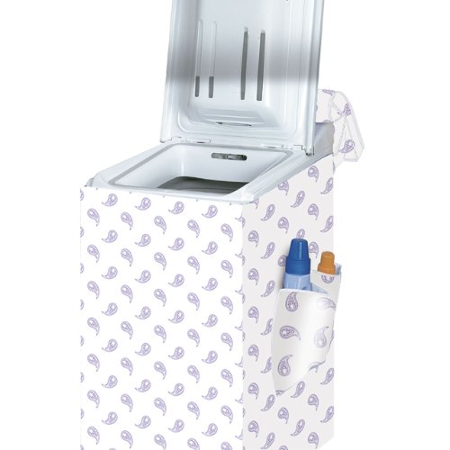 Rayen 2396 Housse machine à laver à chargement par le haut - 84 x 45 x 65 cm - tissu doublé - protégez votre lave-linge Rayen