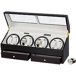 Auer Accessories Helios 644EG Uhrenbeweger für 8 Uhren Individuell Programmierbar
