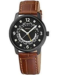 M-WATCH Aero 40 Analog Black Dial Men's Watch-WBL.90220.LG