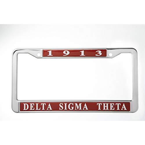 Delta Sigma Theta Metall Nummernschild Rahmen -