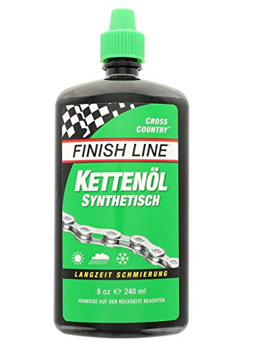 Finish Line Crosscountry Kettenöl 240 ml Spritzflasche Pflegen Plus Warten, Mehrfarbig, One Size