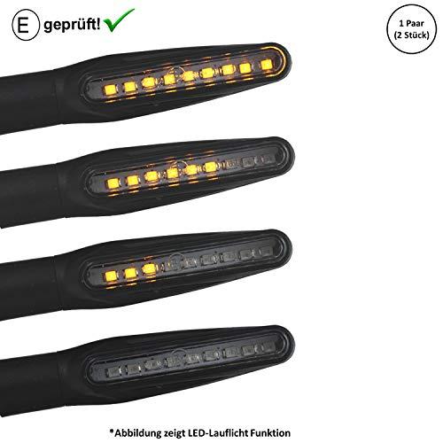 LED Blinker Keeway Focus, Hurricane, F-Act, Zahara Dragon (E-Geprüft / 2Stück) (B7) -