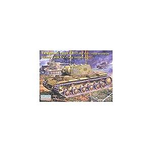 Arca Modelos ee351191: 35Escala KV-1Ruso Tanque Pesado Modelo de plástico