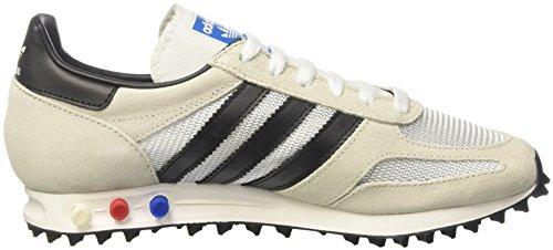 adidas la Trainer Og, Sneakers Basses Homme, Bleu, 43 EU Blanc Cassé (Vintage White/core Black/clear Brown)