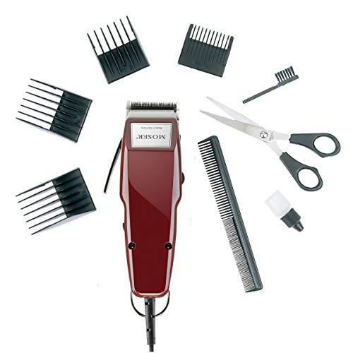 Moser Haarschneidemaschine 1400-0050, 10 Watt, grau/rot