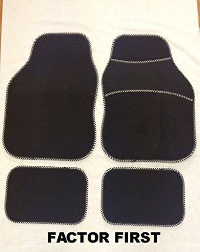 chrysler-ypsilon-2011-new-silver-bead-universal-car-carpet-floor-mats-set-of-4-front-rear