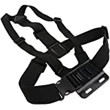 SLB Works Chest Strap Mount For GoPro Hero 5 Adjustable Body Harness Belt
