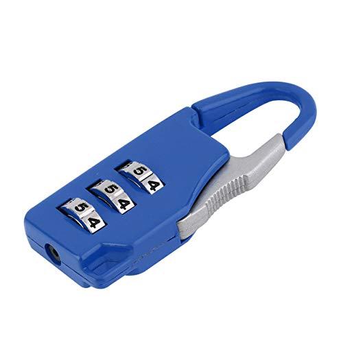 BIYI 1 pc Nueva seguridad 3 Combinación de viaje Aleación de zinc Maleta Bolsa de equipaje...
