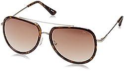 252005cccb1 7%off Opium Gradient Aviator Unisex Sunglasses (OP-1375-C05