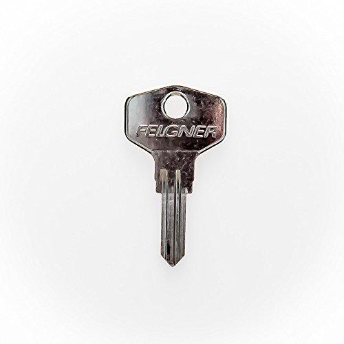 JU Ersatzschlüssel B - Schließung B 001 bis B 508 - Nachschlüssel - Zusatzschlüssel - für JU Briefkästen und Briefkastenanlagen - Briefkastenschlüssel - nachträglicher Schlüssel für JU Briefkästen