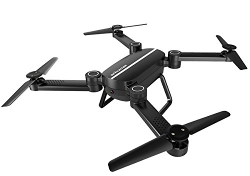 EAGLE 2017 Drone RC Quadcopter Altitude Hold Headless RTF 3D 360 Grados FPV VIDEO WIFI 1280P x 720P Full HD Cámara 6 ejes 4 CH 2,4 Ghz Altitud Hold Easy Fly Steady para el Aprendizaje, Negro