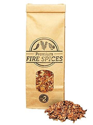 500ml Copeaux de bois d'olivier & Épices pour barbecue et fumoir, Smokey Olive Wood