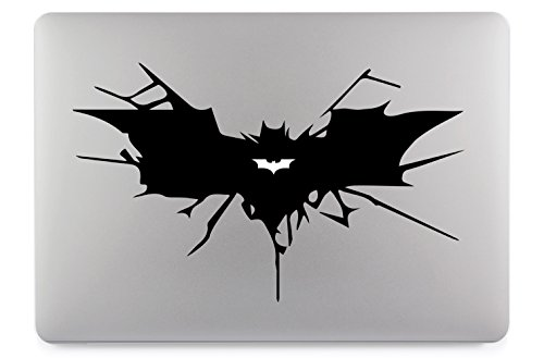 Batman Símbolo Apple MacBook Air Pro vinilo adhesivo piel adhesivo
