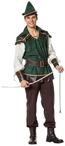 L3302620-54 Herren Robin Hood Kostüm Gr.54 (Girl Kostüm Jäger)