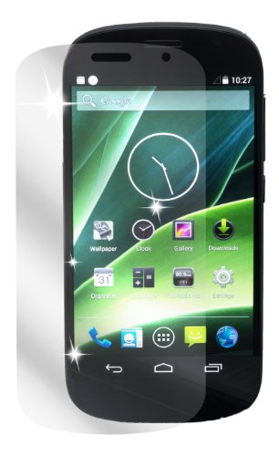 dipos I 2X Schutzfolie klar passend für Yota Yotaphone 2 Folie Displayschutzfolie