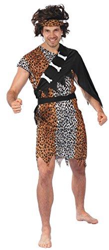 P 'tit Clown re99806–Kostüm Erwachsene Höhlenmensch Größe - Kostüme Höhlenmenschen