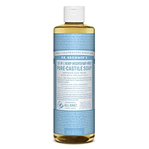 41yd7%2BOQL3L. SS300  - DR BRONNERS Organic Baby Pure Castille Liquid Soap 473ml (PACK OF 1)