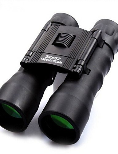 Fernrohr 22x32 Double Tube High Definition Low Light Night Vision Blue Film Teleskop (Night Pc Low Vision Light)
