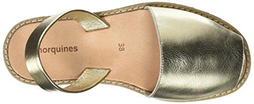 Minorca Sandali Avarca Posteriore D'oro Cinturino Donna g7ddxOwrq5