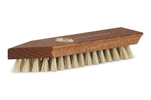 Langer & Messmer Cepillo de zapatos para limpiar zapatos muy sucios: el cepillo de suciedad para el cuidado profesional del calzado