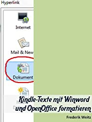 Kindle-Texte mit Winword und OpenOffice formatieren