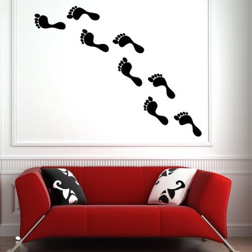 Foot steps - Wall stickers - Wallstickers wandtattoo schlafzimmer aufkleber