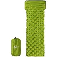 GUOCU Colchón Inflable, Esterilla de Acampada Hinchable Colchoneta de Aire Portátil Ultraligero para Viaje Camping