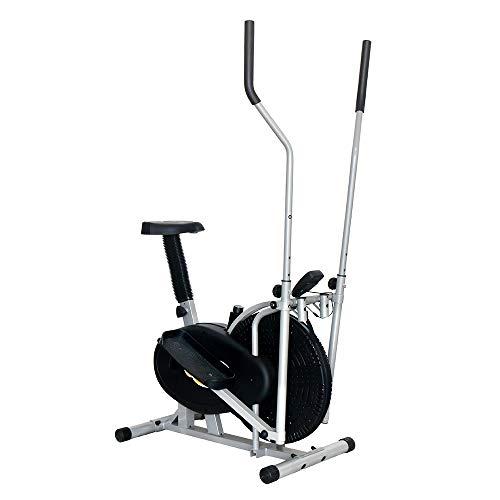 Vobajf Máquina elíptica Máquina elíptica Entrenador Compacto Life Fitness Aparatos for Hacer Ejercicio for Habitaciones pequeñas, Apartamentos, o en Cualquier Bicicletas de Ejercicio