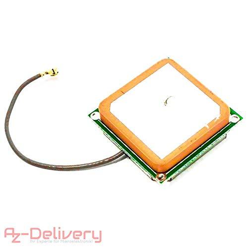 AZDelivery ⭐⭐⭐⭐⭐ GPS Antenne für NEO-6M GPS Modul mit GRATIS EBOOK!