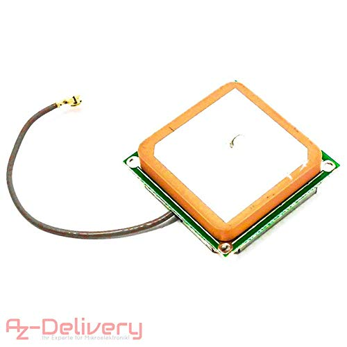 AZDelivery ⭐⭐⭐⭐⭐ SIM 900 GPRS/GSM Shield + GPS moduli + SIM 808 + ETHERNET Shield con gratis eBook 1x GPS Antenne