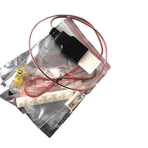 starter LED-Licht Montage-Für Lego UK London Doppeldecker Bus 10258 Zusammengebaute Bausteine   Spielzeug LED Beleuchtung DIY Beleuchtete Bausteine -