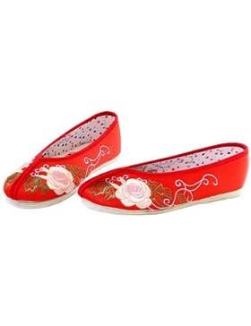 Interact China, Scarpe da escursionismo donna Rosso rosso