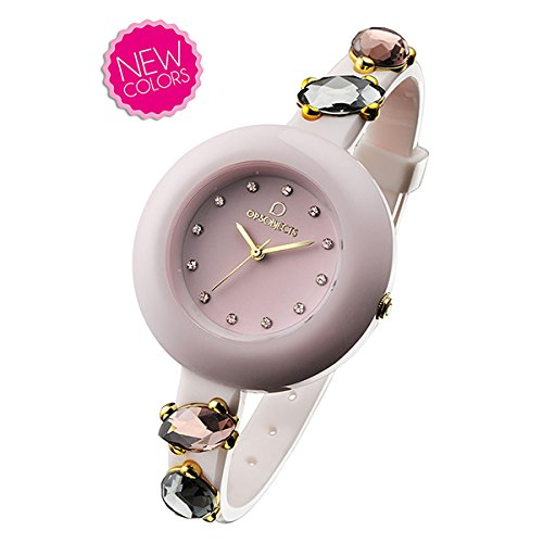 Ops Objects opspw175–Orologio, cinturino in plastica colore bianco