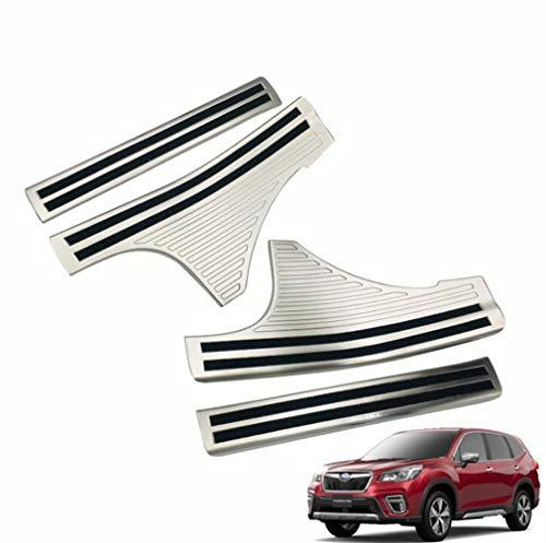 Silos in Acciaio Inox per Guardiani Pedali Accessori Pedali Decorativi 4 Pezzi dedicati agli Accessori per Auto modificati Subaru Forester 9