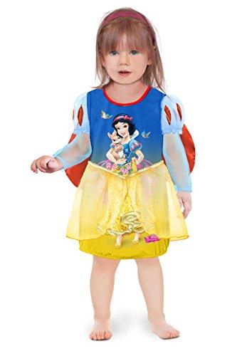 Ciao 11243.12-18 - Vestido de princesas Disney para bebé Blancanieves 18-24 mesi Blu/Giallo