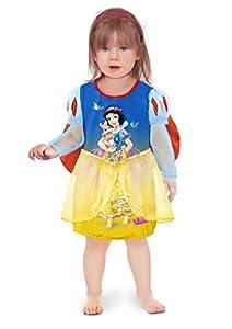 Ciao 11243.12-18 - Vestido de princesas Disney para bebé Blancanieves 12-18 mesi Blu/Giallo