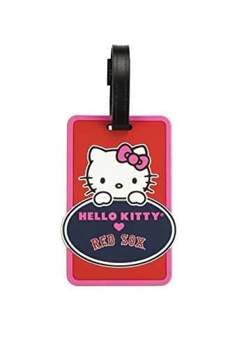mlb-boston-red-sox-hello-kitty-peeking-bag-tag