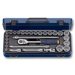 Steckschlüssel-Sortiment 1/2″-Vierkant 29-teilig 12